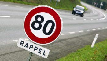 limitation de vitesse 80 km/h réforme sécurité routière