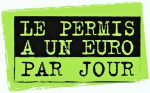 aide permis financement 1 € par jour